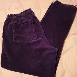 CJ Banks corduroy pants